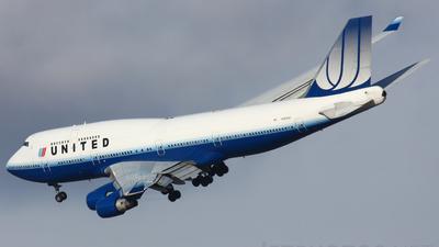 N182UA - Boeing 747-422 - United Airlines