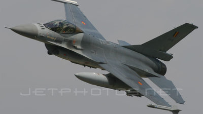FA-111 - General Dynamics F-16AM Fighting Falcon - Belgium - Air Force