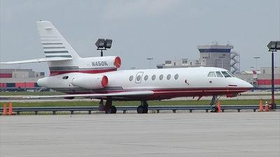 N450K - Dassault Falcon 50EX - Kimball International Transit