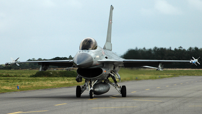 E-196 - General Dynamics F-16A Fighting Falcon - Denmark - Air Force