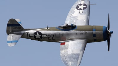 NX7159Z - Republic P-47D Thunderbolt - Private