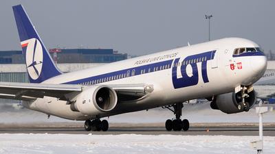 SP-LPB - Boeing 767-35D(ER) - LOT Polish Airlines