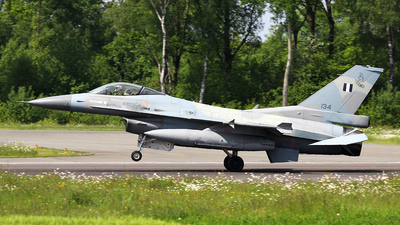134 - Lockheed Martin F-16C Fighting Falcon - Greece - Air Force