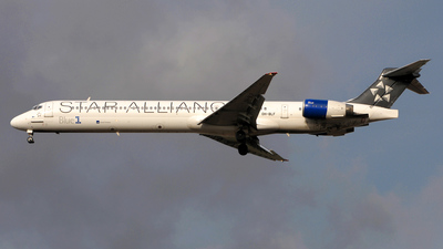 OH-BLF - McDonnell Douglas MD-90-30 - Blue1