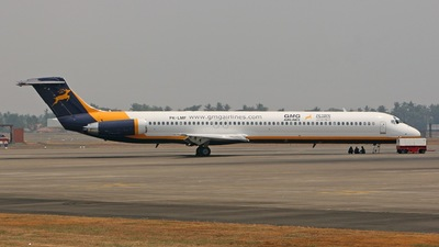 PK-LMF - McDonnell Douglas MD-82 - GMG Airlines