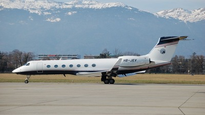 HB-JEV - Gulfstream G550 - G5 Executive