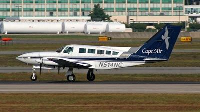 A picture of N514NC - Cessna 402C - Cape Air - © Steve Pellegrino