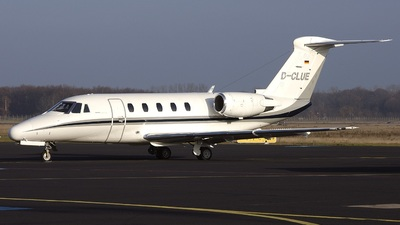D-CLUE - Cessna 650 Citation III - Air Traffic