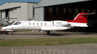 LV-BPA - Bombardier Learjet 35A - Private