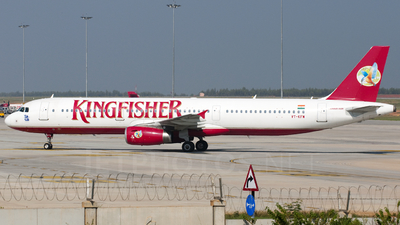 VT-KFW - Airbus A321-232 - Kingfisher Airlines