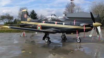 667 - Pilatus PC-9M - Bulgaria - Air Force
