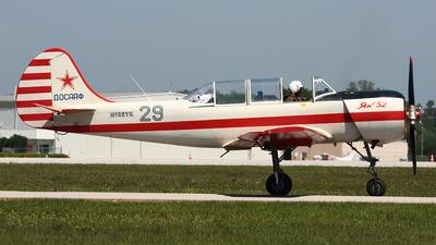 N102YK - Yakovlev Yak-52 - Private