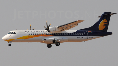 VT-JCN - ATR 72-212A(500) - Jet Airways