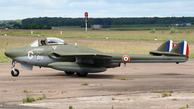 F-AZIK - De Havilland DH-115 Vampire - Private