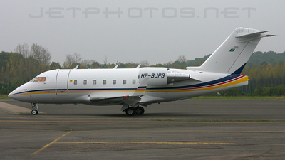HZ-SJP3 - Bombardier CL-600-2B16 Challenger 604 - Private