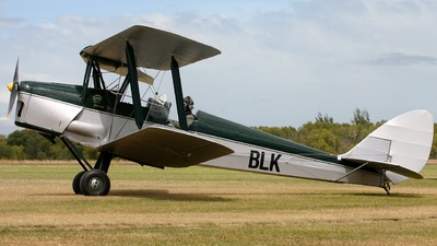 ZK-BLK - De Havilland DH-82A Tiger Moth - Private