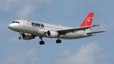 N378NW - Airbus A320-212 - Northwest Airlines