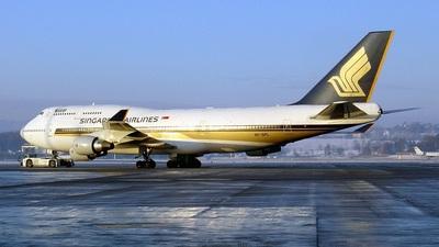 9V-SPL - Boeing 747-412 - Singapore Airlines