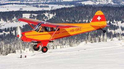 HB-ORZ - Piper PA-18 Super Cub - Private
