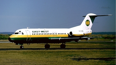 VH-EWA - Fokker F28-4000 Fellowship - East-West Airlines