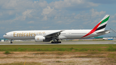 A6-ECB - Boeing 777-31HER - Emirates