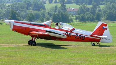 OK-ZRB - Zlin 526AFS - Aero Club - Czech Republic