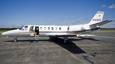 N416BA - Cessna 560 Citation V - Private