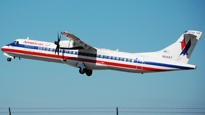 N541AT - ATR 72-212A(500) - American Eagle (Executive Airlines)