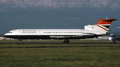 G-AWZA - Hawker Siddeley HS-121 Trident 3 - British Airways