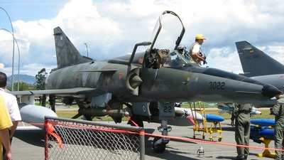 FAC-3022 - Dassault Mirage 5COAM - Colombia - Air Force