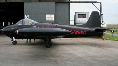 G-BWGT - H.P.Jet Provost T.4 - Private