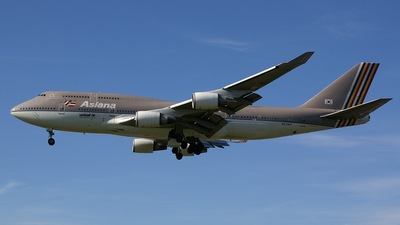 HL7417 - Boeing 747-48E(M) - Asiana Airlines