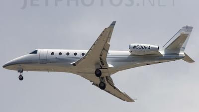 A picture of N590FA - Gulfstream G150 - [224] - © Orlando Suarez
