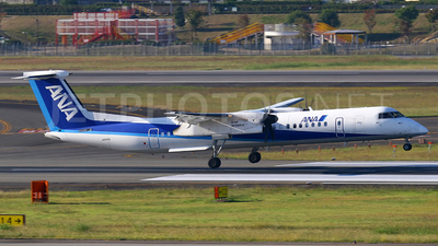 JA845A - Bombardier Dash 8-Q402 - All Nippon Airways (Air Central)
