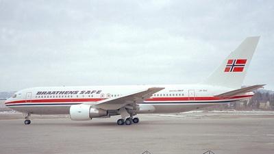 LN-SUV - Boeing 767-205 - Braathens SAFE