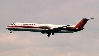 N920VJ - McDonnell Douglas DC-9-51 - Allegheny Airlines