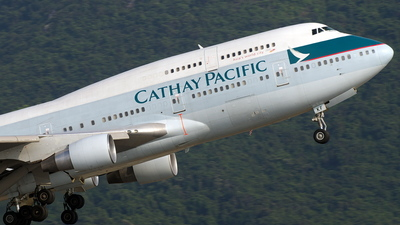 B-HKF - Boeing 747-412 - Cathay Pacific Airways