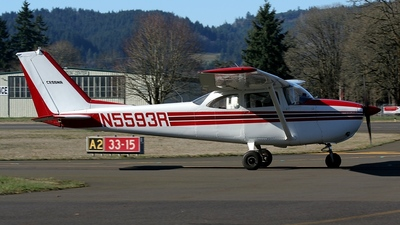 N5593R - Cessna 172F Skyhawk - Private