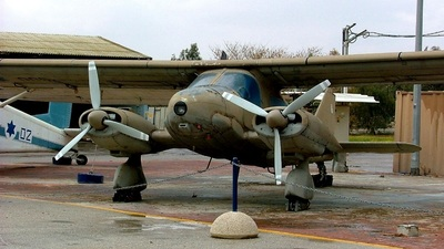 005 - Dornier Do-28 Skyservant - Israel - Air Force