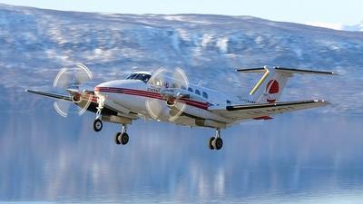 LN-MOJ - Beechcraft 200 Super King Air - Lufttransport