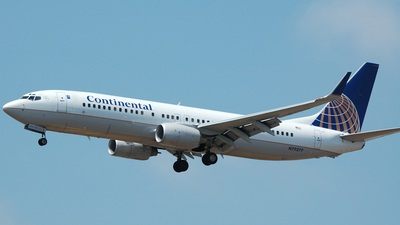 N79279 - Boeing 737-824 - Continental Airlines