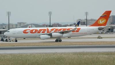 EC-JGU - Airbus A340-211 - Conviasa