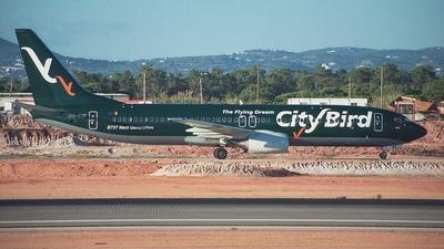 OO-CYI - Boeing 737-86Q - CityBird