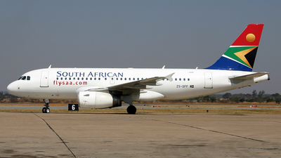 ZS-SFF - Airbus A319-131 - South African Airways