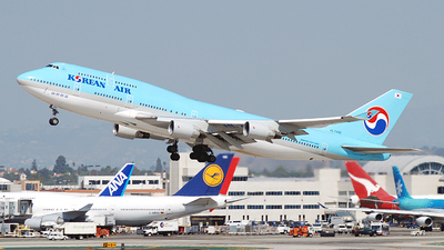 HL7492 - Boeing 747-4B5 - Korean Air