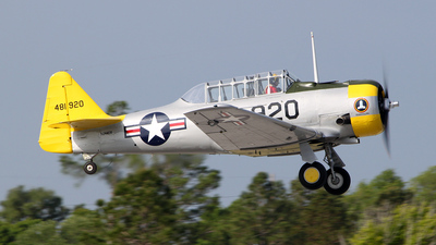 N244GR - North American AT-6F Texan - Private