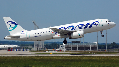 S5-AAB - Airbus A320-231 - Adria Airways