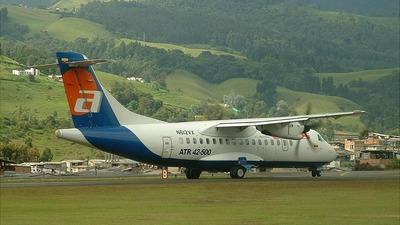 N612VX - ATR 42-500 - ACES Colombia