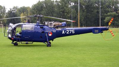 A-275 - Aérospatiale SA 316B Alouette III - Netherlands - Royal Air Force