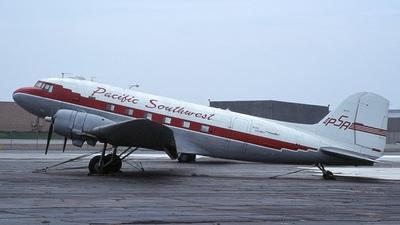 A picture of N47TF - Douglas DC3C - [12317] - © Mark Abbott